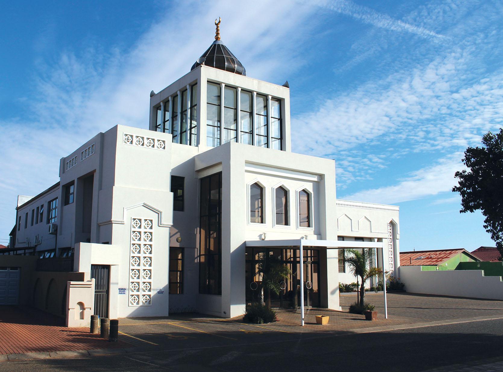 Front Entrance of Masjid