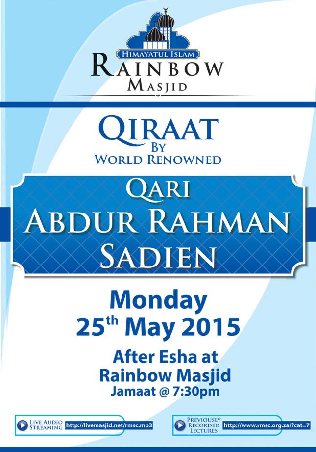 RAINBOW Masjid_A3 Poster